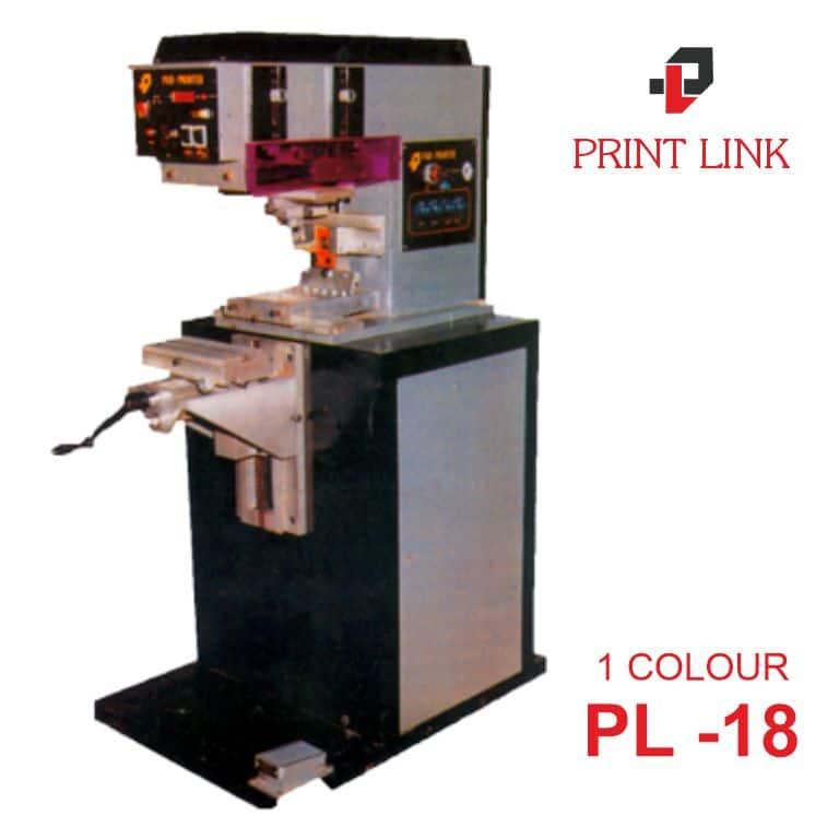 PAD PRINTING MACHINE PL 18 1 COLOUR