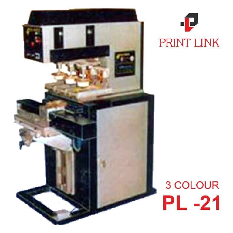 PAD PRINTING MACHINE PL 21 3 COLOUR